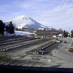 Aussicht von Zimmer 301 - Blick zur FLECKbahn