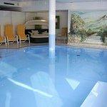 ...das Pool im Haus, tolles Wellnessprogramm