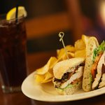 Grilled Chicken BLT with housemade chips