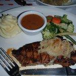 Great Steak and Garlic Mash