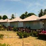 Hotel area, simpler bungalows