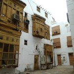 Wooden balconies and window covers; Al-Balad, Jeddah