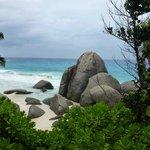 Une plage de l'ile Mahé