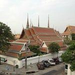 Wat Pho from bedtoom