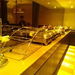 Buffet spread for lunch