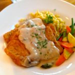 Jagerschnitzel - flavorful and hearty!