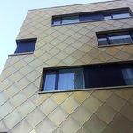 Fasade med skjellmønster