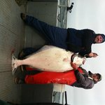 100 LB Halibut caught May 5, 2012