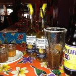 mexican beer and the special michelada