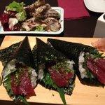 tuna with mint