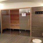 Mixed sauna