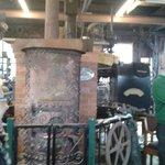 Old Betsy's boiler.
