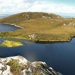 Blick auf Knockalla Lough