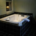 Whirlpool tub in Master Gerald's Room