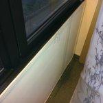 Vazamento da janela