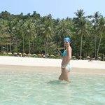 Freedom beach, white sand