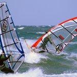 Windsurf Pros vor Zingst