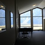 Foyer with a view