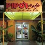 Entrance to yummy cuban food