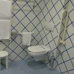 Nel bagno per handicappati non c'è bidet nè box doccia