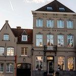 Façade l'hôtel Ter Duinen