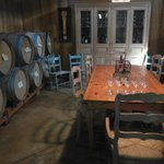 Tasting room at Tudal Family Winery