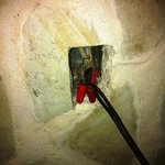 Outlet Hardwired to Lamp