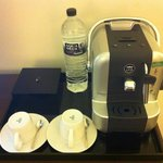 Individual Coffee/Tea machine in the room