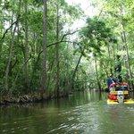 Cruising down the Dora Canal