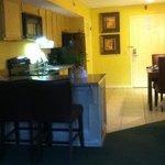 entry, kitchenette