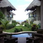 View from the lobby to the ocean