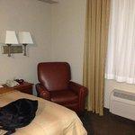 Recliner in room