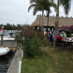 outside, waterfront dining