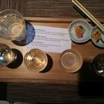 Flight of Sake