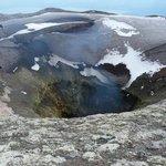 cratere volcan villarica