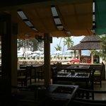 Pool bar(take photo from restaurant)