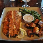Southern Herb encrusted Trout