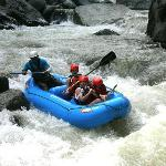 Rafting class IV-V chorro section