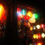 Hoi An at night ... a lantern shop.