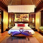 One Bedroom Villa Honeymoon set up