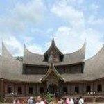 Rumah Gadang - traditional Minangkabau house