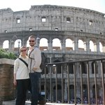 Our stop at Il Colosseo! Great photo, Valerio!