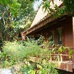 Gartenanlage zum Bungalow