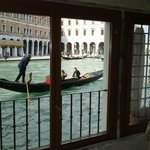 Gondolas five meters from your window