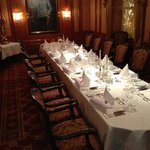 Private dining at the Imperial...