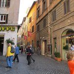 Photo of Via dei Pastini and Hotel Pantheon