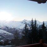vue mont vers mont blanc