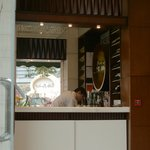 Small bar in lobby