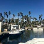 Rental boats in marina
