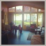Inside bungalow suite